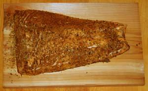 cedar wood oven plank